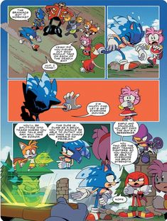 354 Best Sonic Comic Images In 2020 Sonic Sonic The Hedgehog Sonic Art
