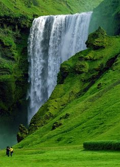 Skógafoss Vodopád, Island