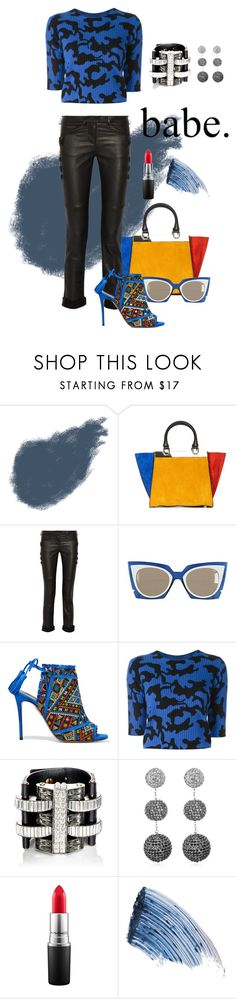 """Babe."" by flippintickledinc ❤ liked on Polyvore featuring Clé de Peau Beauté, Alice + Olivia, Isabel Marant, Fendi, Aquazzura, ZoÃ« Jordan, Lanvin, Suzanna Dai, MAC Cosmetics and Sisley"