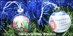 DIY Christmas Bauble - www.wendycoppola.com Diy Christmas Baubles, Christmas Bulbs, Make Your Mark, Posts, Holiday Decor, How To Make, Blog, Life, Messages