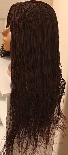 Million braids 35 custom hand braided lace wig
