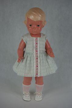 Schildkröt Puppe Inge 45cm alt antik Celluloid Zelluloid 40er 50er Jahre | eBay