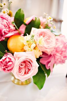 Glam Lemonade Bridal Shower - Bella Paris Designs