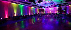 Neon Prom Centerpiece | partypeoplecelebrationco.com