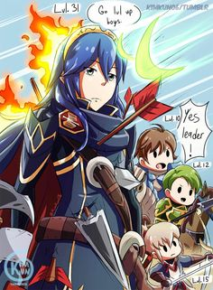 My Fire Emblem Heroes experience so far:  Having a vastly over powered leader that takes all the hits, while her henchmen finish the job to gather the Exp. <--- XD That's exactly how I do it.