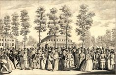 Venetian Masquerade at Ranelagh, April 26th 1749.