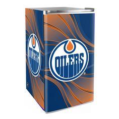 Edmonton Oilers 3.2 Cubic Feet Mini-Fridge