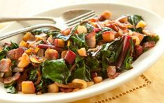 Chard with Bacon and Apple   Whole Foods Market