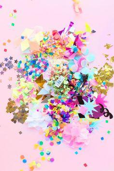 A Guide to the Best Confetti   studiodiy.com: