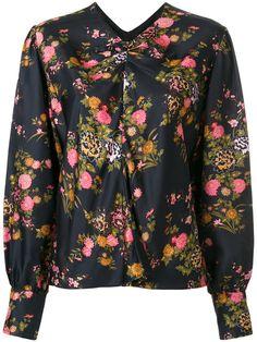 ISABEL MARANT Floral Print Rusak Blouse. #isabelmarant #cloth #blouse