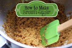 How to Make Brown Sugar | ImaginAcres
