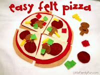 Little Family Fun: Easy DIY Felt Foods