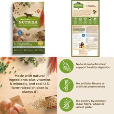 Natural Dry Dog Food Real Chicken &Amp; Veggies Recipe 40 Lb #RachaelRayNutrish, #dog,#food,#cat,#energy,#strong,#health,#dry,#pet,#protein,#natural