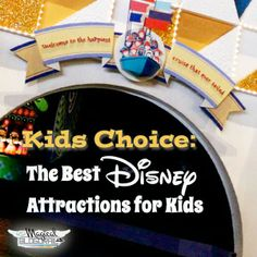 "Magical Blogorail Special ~ Top Disney Attractions for kids (from The Kids of the Magical Blogorail)! -- Click on the link near the bottom of each post to be taken to the next ""stop"" on this fun Blogorail!  If you have kids, you won't want to miss this!!!"