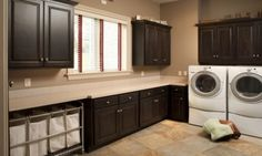 laundry sorter under cabinets