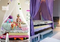 Princess and the Pea bed ideas from KidCrave