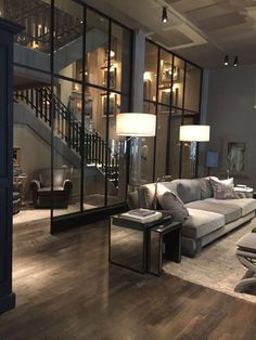Luxury Loft Apartment Décor Inspirations - Modern and Contemporary Interior Design Projects - Schöne dinge - Contemporary Interior Design, Best Interior Design, Modern House Design, Luxury Interior, Home Design, Design Ideas, Contemporary Furniture, Contemporary Building, Modern Contemporary