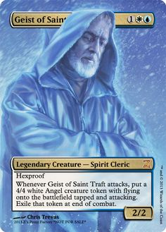Geist of Saint Traft, zeerbe, proxy, digital render, Z's Proxy Factory, MTG, Magic the Gathering