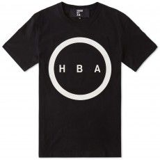 Hood By Air Orgy Logo Tee (Black & White)