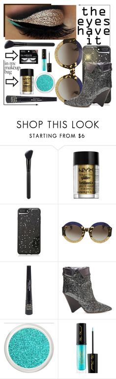 """My Make Up Bag"" by paulid ❤ liked on Polyvore featuring beauty, Morphe, NYX, Forever 21, Gucci, Manic Panic NYC, Isabel Marant and Sephora Collection"