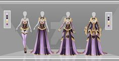 Adoptable Outfit Auction by LaminaNati on DeviantArt Dress Drawing, Drawing Clothes, Manga Clothes, Character Inspiration, Character Design, Fantasy Dress, Fantasy Outfits, Clothing Sketches, Anime Dress