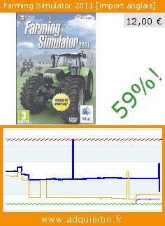 Farming Simulator 2011 [import anglais] (CD-Rom). Réduction de 59%! Prix actuel 12,00 €, l'ancien prix était de 29,07 €. https://www.adquisitio.fr/excalibur/farming-simulator-2011-0