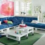 Como fazer um sofá usando paletes