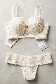 Blush Eyelet Thong - anthropologie.com