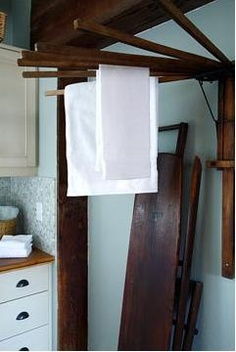Oh! I have one of these laundry drying racks!