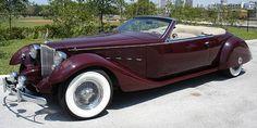 ** Bayliff Packard automobiles