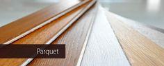 Parquet in legno, tradizionale e prefinito e pavimenti in laminato