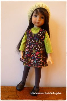 Doll set Little Darling Effner Chéries by LesCouturesdeMagda, €22.00