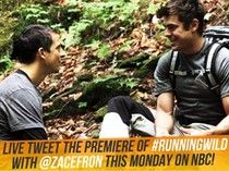 Who's excited to see Zac Efron on Monday night's Running Wild with Bear Grylls?! Don't forget to join him for a LIVE TWEET of the premiere! - Team ZE