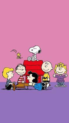 My Friends! Cartoon Wallpaper, Snoopy Wallpaper, Wallpaper Iphone Cute, Disney Wallpaper, Cute Wallpapers, Snoopy Comics, Peanuts Cartoon, Peanuts Snoopy, Charlie Brown Und Snoopy