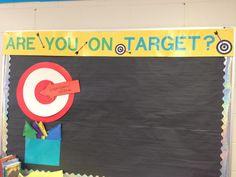Target learning goals