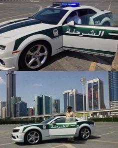 Sports cars for the Dubai Police - Chevrolet Camaro