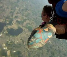 Another view from tandem jump.