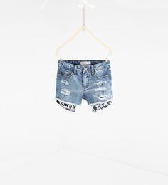 Mickey Mouse Shorts from Zara
