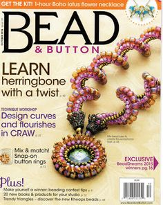 Kerrie Slade: Safari Rings! Safari ring project on page 72 of the October 2015 issue of Bead and Button magazine.