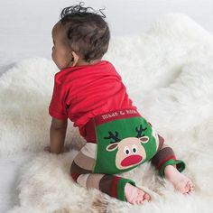 Christmas Blade and Rose Leggings, Blade and Rose Leggings, Baby Christmas Leggings, Rudolph Leggings
