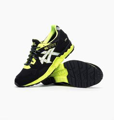 #Asics Gel Lyte V Gore Tex Black/Yellow #sneakers