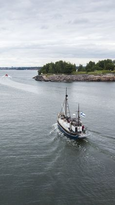 See my photo of a small boat passing through Kustaanmiekka strait in Suomenlinna, Heslsinki. Fortification, Small Boats, Drone Photography, Helsinki, Finland, Colorado, My Photos, Sea, Group
