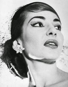 Maria Callas, New York 1952 by Horst P. Horst- Callas was a great actress because she was a great musician, because she understood that for a singer the drama is above all in the voice—in phrasing, in shaping the vocal line, in executing a perfect descending scale, in giving every word—even, or especially, in recitatives—its proper emphasis. Nothing is passed over, nothing ignored or slighted.
