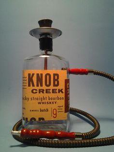 liquor bottle crafts on pinterest bottle lamps liquor bottle