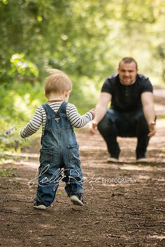One year old walker photoshoot. Outdoor woodland photo session