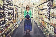 Expecting. In a supermarket. As you do. :)