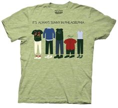It's Always Sunny In Philadelphia Outfits Mens T-shirt S $17.95 https://www.fanprint.com/stores/sunny-in-philadel?ref=5750