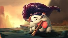 Download Yasuo League of Legends Poro Champion 1920x1080