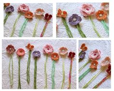 Lady By The Bay: Crocheted Pacifier Clips