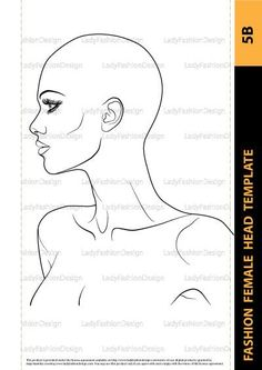To have an accurate foundation for your idealized female fashion head, tracing a well-chosen photo can save a great deal of time and frustration. Realistic Eye Drawing, Female Drawing, Body Drawing, Painting & Drawing, Fashion Face, Female Fashion, Costume Design Sketch, Fashion Figure Drawing, Face Stencils